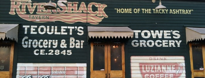 Rivershack Tavern is one of Diners, Drive-Ins, & Dives.