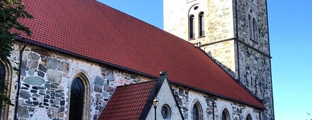 Vår Frue kirke is one of Trondheim.