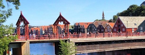 Gamle Bybro is one of Trondheim.