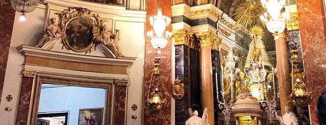 Basilica de la Virgen is one of Valencia.