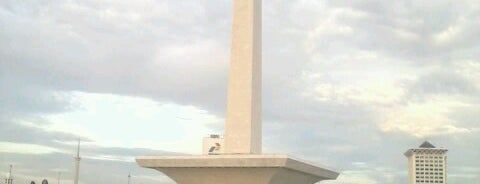 Monumen Nasional (MONAS) is one of Jakarta. Indonesia.