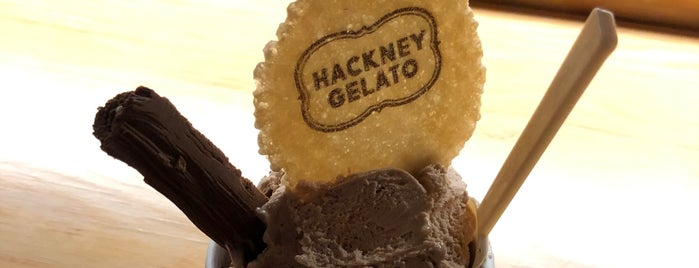 Hackney Gelato is one of Indian to try.