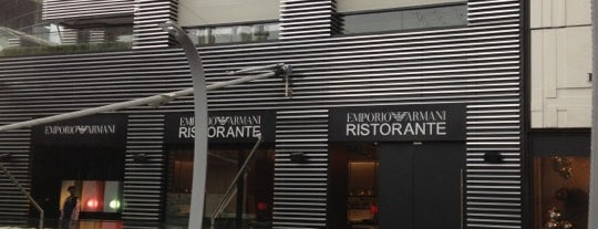 Emporio Armani Ristorante is one of Restaurant's List.