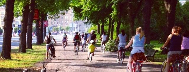 Djurgården is one of Stockholm.