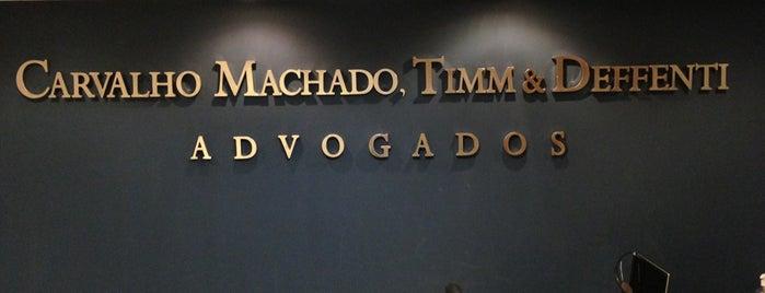 CMTL - Carvalho, Machado, Timm & Luz Advogados - CMTED is one of Lieux qui ont plu à Vandi Mikael.