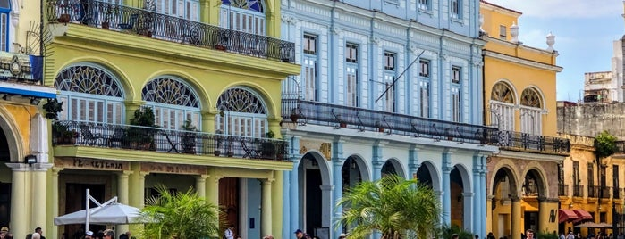 Plaza Vieja is one of Cuba.