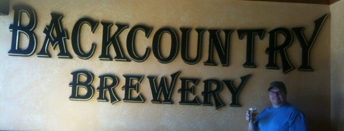 Backcountry Brewery is one of Colorado Breweries.