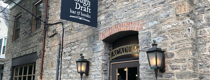 Rough Draft Bar & Books is one of Catskills.