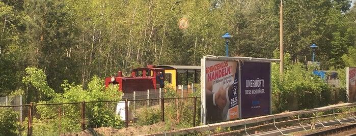 S Wuhlheide is one of U & S Bahnen Berlin by. RayJay.