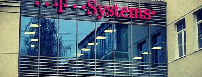 T-Systems is one of Grisha : понравившиеся места.