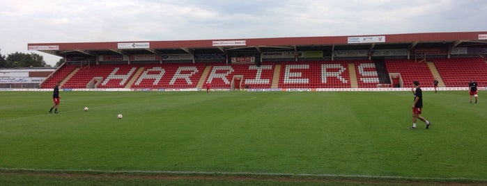 Aggborough Stadium (Kidderminster Harriers FC) is one of Lieux qui ont plu à Carl.