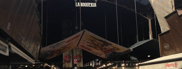 Mercat de Sant Josep - La Boqueria is one of barcelona weekend.