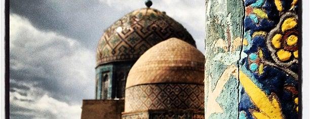Shoxi Zinda is one of Samarqand.