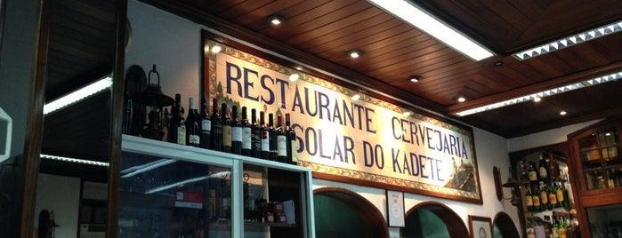 Solar do Kadete is one of Restaurantes - TODO.