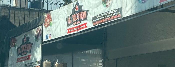 El Taco Rojo is one of Lieux qui ont plu à Ivan.