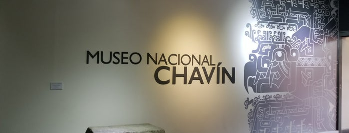 Museo Nacional Chavin is one of Locais curtidos por Sebastian.