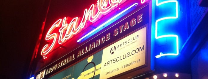 Stanley Industrial Alliance Stage (Arts Club Theatre Company) is one of Vancouver Neon.