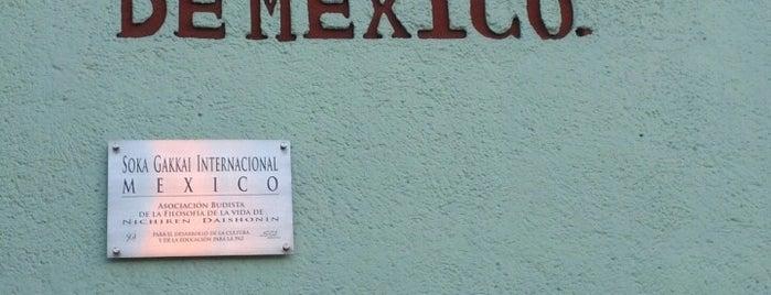 Soka Gakkai Mexico is one of Lugares guardados de Thania.
