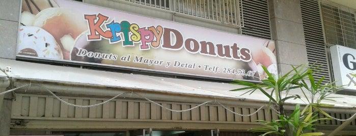 Krispy Donuts is one of Lugares favoritos de Frank.