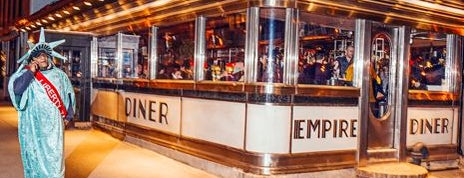 Empire Diner is one of Chelsea | Restaurants - TODO.