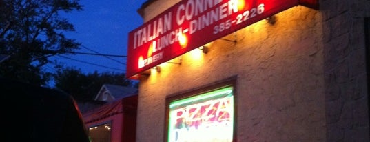 Italian Connection Pizza is one of Jersey Eats.