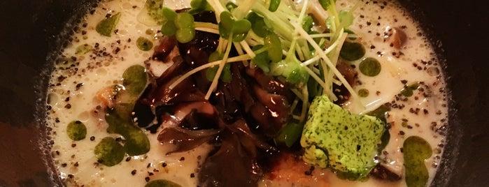 麺ビストロ Nakano is one of Orte, die Nick gefallen.