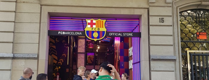 FC Barcelona Official Store is one of Barcelona.