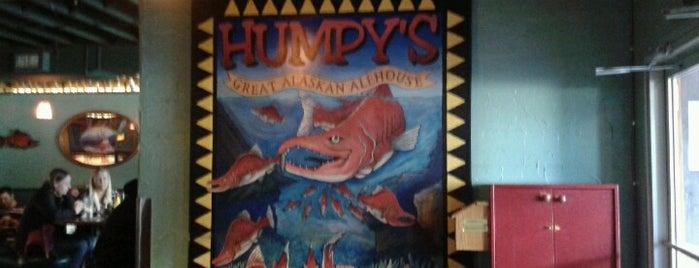 Humpy's Great Alaskan Alehouse is one of 54 Bars Where It's Raining Men.