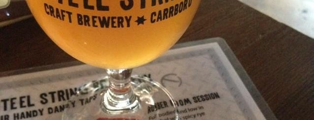 Steel String Brewery is one of Triangle Craft Beer.