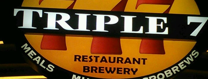 Triple 7 Restaurant & Brewery is one of LV2K14.
