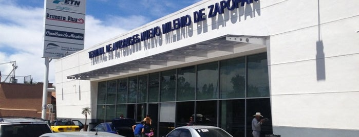 Terminal de Autobuses Nuevo Milenio de Zapopan is one of Ca. Casa Nueva Má.