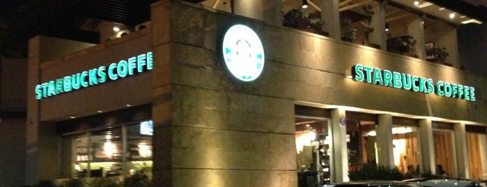 Starbucks is one of cafes-postres-etc.
