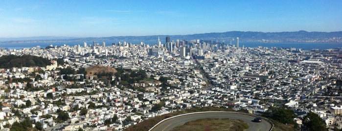 Twin Peaks Summit is one of La to sf.