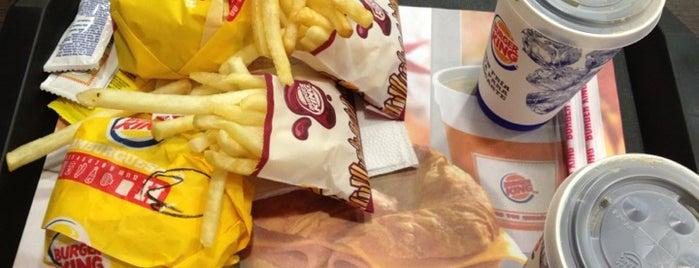 Burger King is one of Comí en:.