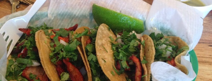 Rosita's Al Pastor is one of Austin Tejas.