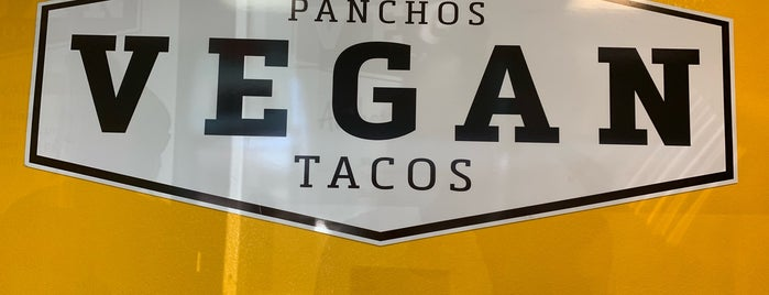 Pancho's Vegan Tacos is one of สถานที่ที่บันทึกไว้ของ Lizzie.
