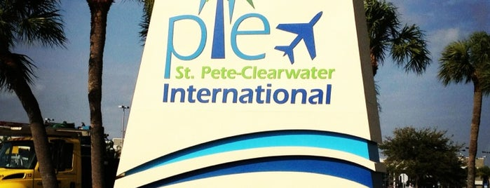 St. Petersburg - Clearwater International Airport (PIE) is one of Airports.