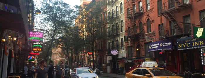 MacDougal Street (Soho) is one of My NYC.