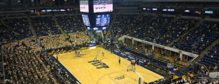 Petersen Events Center is one of Tempat yang Disukai Tiona.