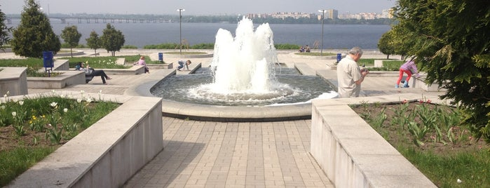 Оглядовий майданчик парку Шевченка is one of Tempat yang Disimpan Катерина.