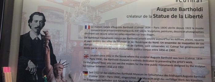 Musée Bartholdi is one of Colmar sarapp yolu.
