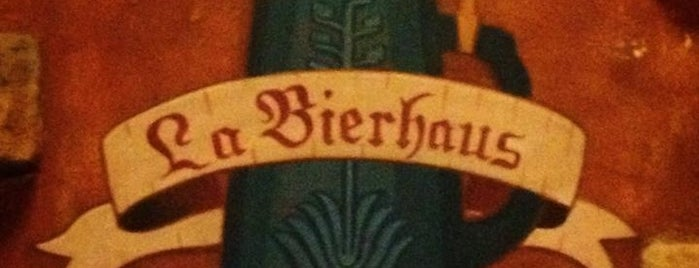 La Bierhaus is one of Mexico 2017.