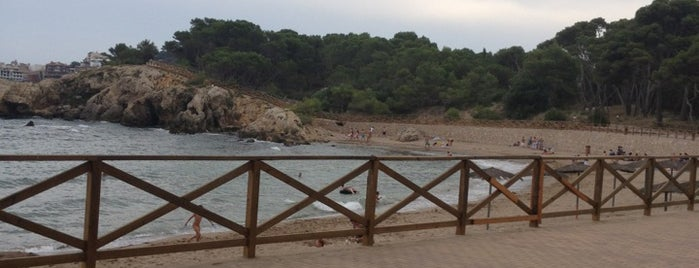 Platja del Portitxol is one of Playas de España: Cataluña.