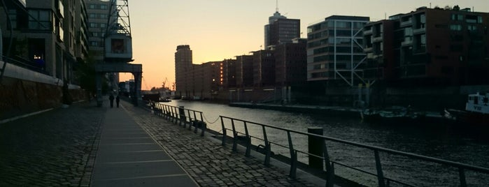 HafenCity is one of Hamburg.