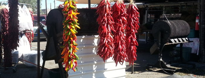 Chile Konnection is one of Green Chile Roasting.