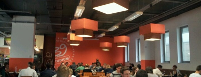 39-esek önkiszolgáló étterme - Studium is one of Bce.
