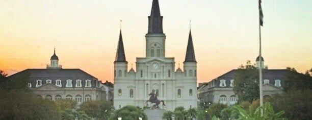 Jackson Square is one of Love in Cajun Country 💜.
