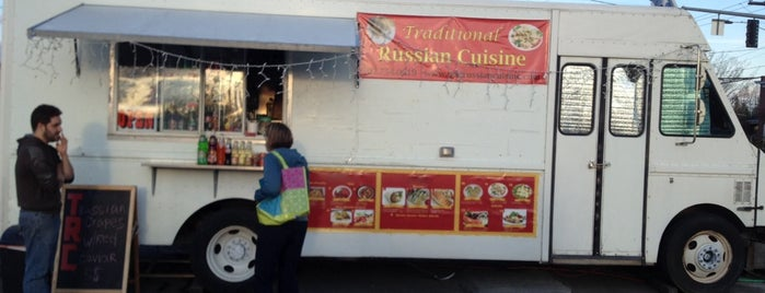 Traditional Russian Cuisine is one of Portland.