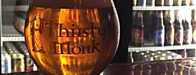 Thirsty Monk Pub & Brewery is one of Daingerfield/Davenport Wedding in Asheville!.
