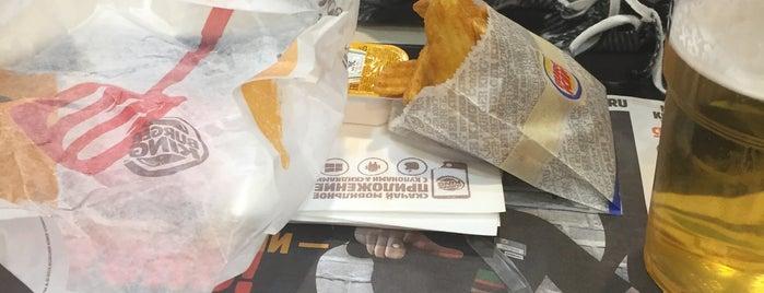 Burger King is one of สถานที่ที่ Михаил ถูกใจ.